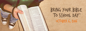 What Would Happen If . . . You Brought Your Bible to School?