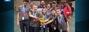 Ci Campers Advanced to LEGO League World Championship!