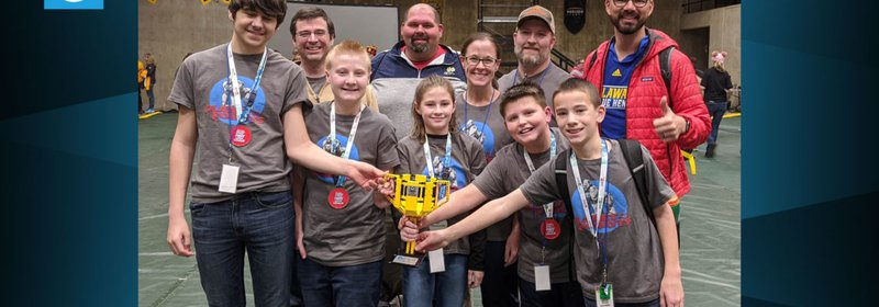 Picture related to Ci Campers Advanced to LEGO League World Championship!